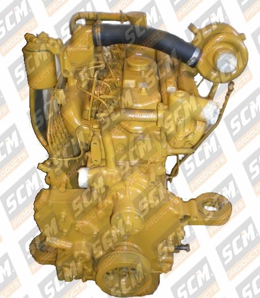 motor escavadeira 320B, 3066