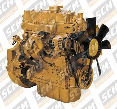 Motor retro 416E, caterpillar 3054
