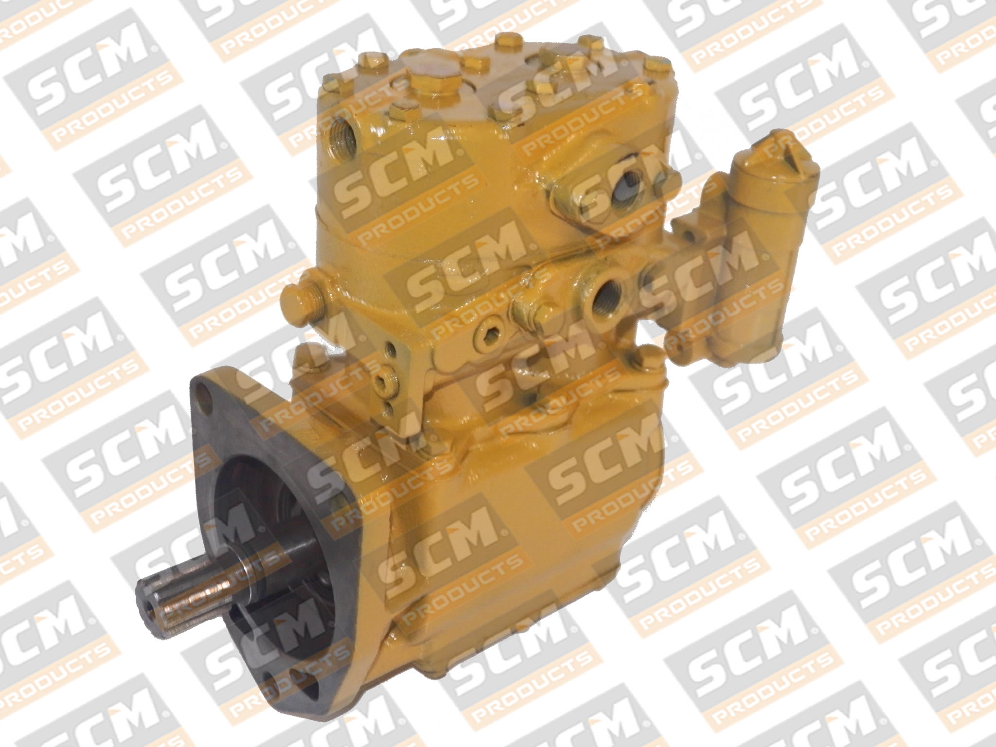 compressor de ar cat , motor D343