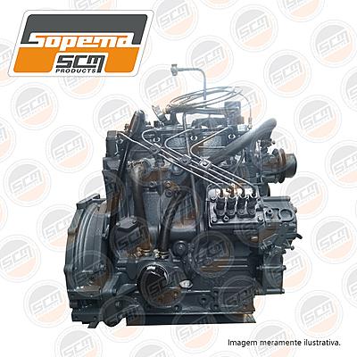 motor shibaura, mini carregadeira