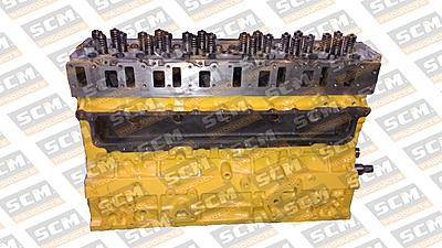 Long Block C6.4, escavadeira 320D