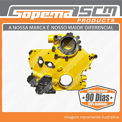 Motor, Caterpillar,3066, Carcaça, Bomba de Óleo,5I7596