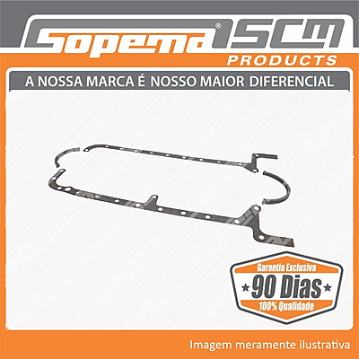 motores, iveco, fpt, trator agricola, s8000, junta do carter, 503776627