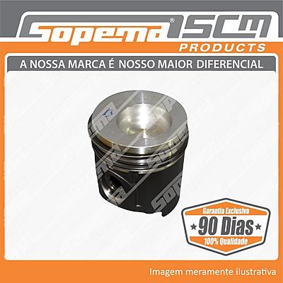 motor, ford genesis, pistao com anel std, 87802371